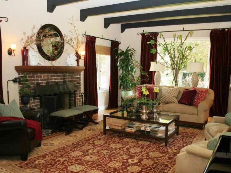 22 Cozy Country Living Room Designs-13
