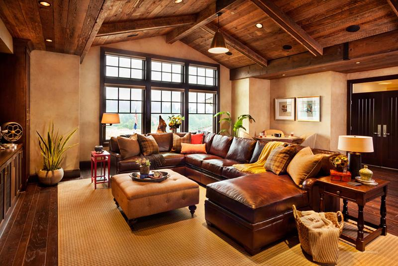 22 Cozy Country Living Room Designs-22
