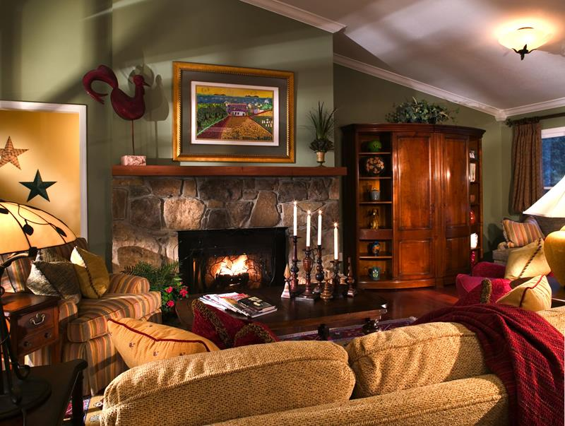 22 Cozy Country Living Room Designs-8
