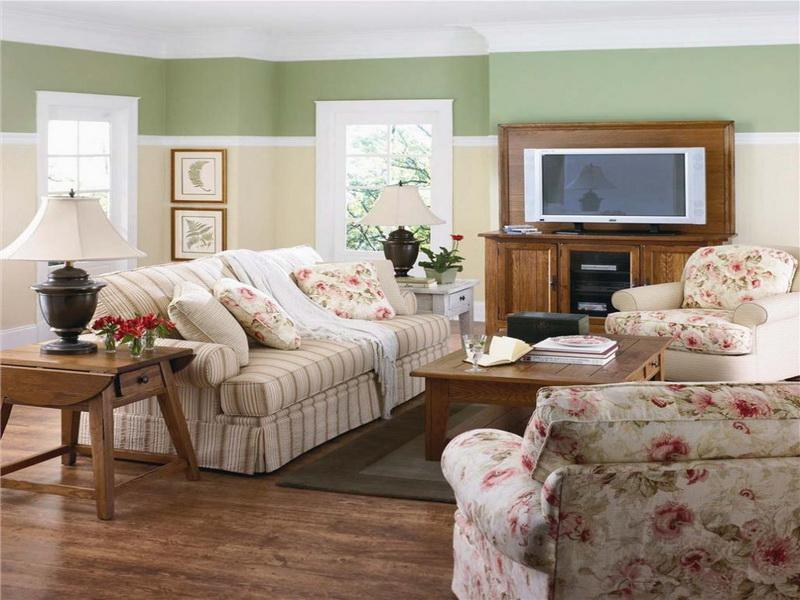 22 Cozy Country Living Room Designs-9