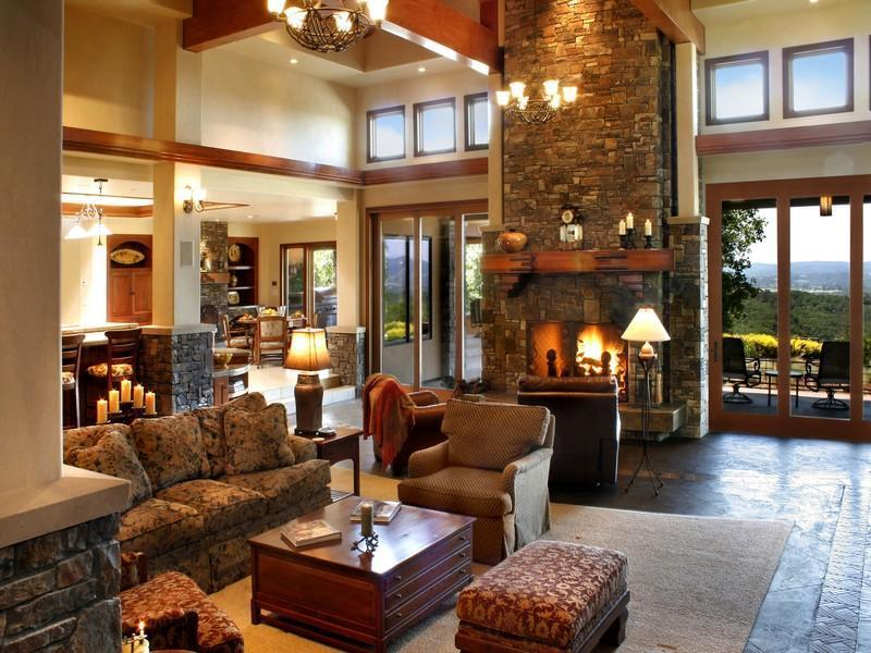 22 Cozy Country Living Room Designs-title