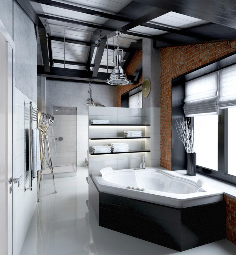 22 Masculine Bathroom Designs-5