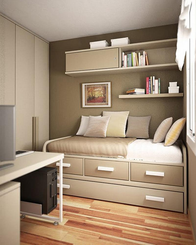 23 Efficient and Attractive Small Bedroom Designs-1