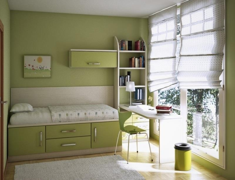 23 Efficient and Attractive Small Bedroom Designs-16