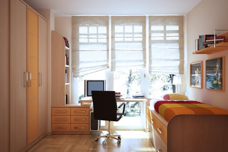 23 Efficient and Attractive Small Bedroom Designs-18