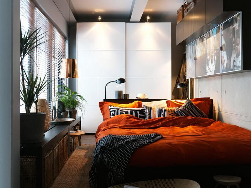 23 Efficient and Attractive Small Bedroom Designs-19