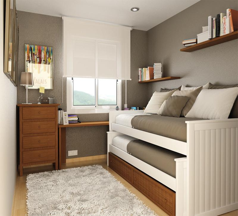 23 Efficient and Attractive Small Bedroom Designs-3