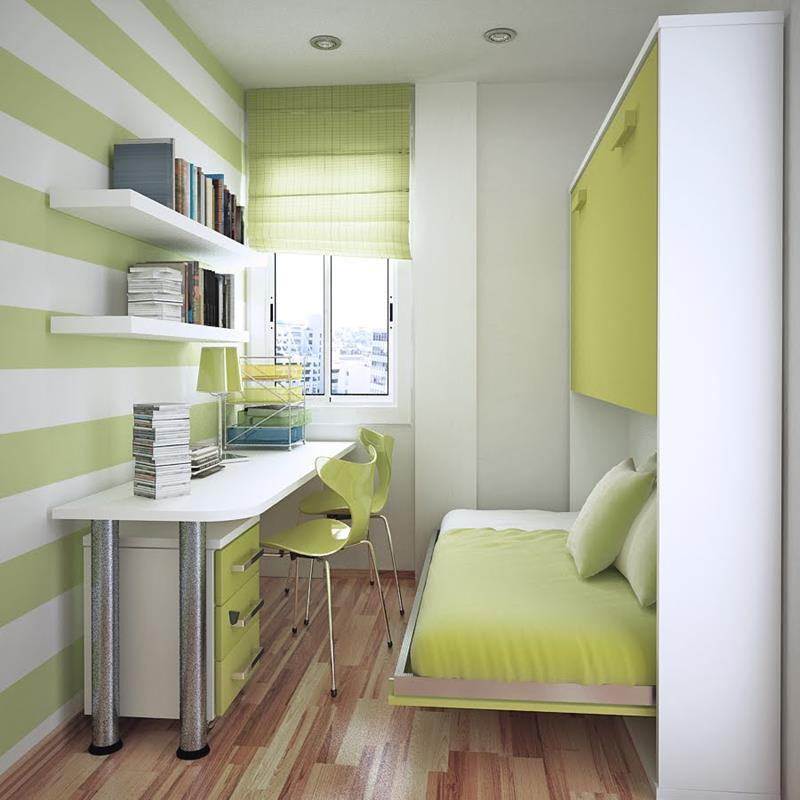 23 Efficient and Attractive Small Bedroom Designs-6