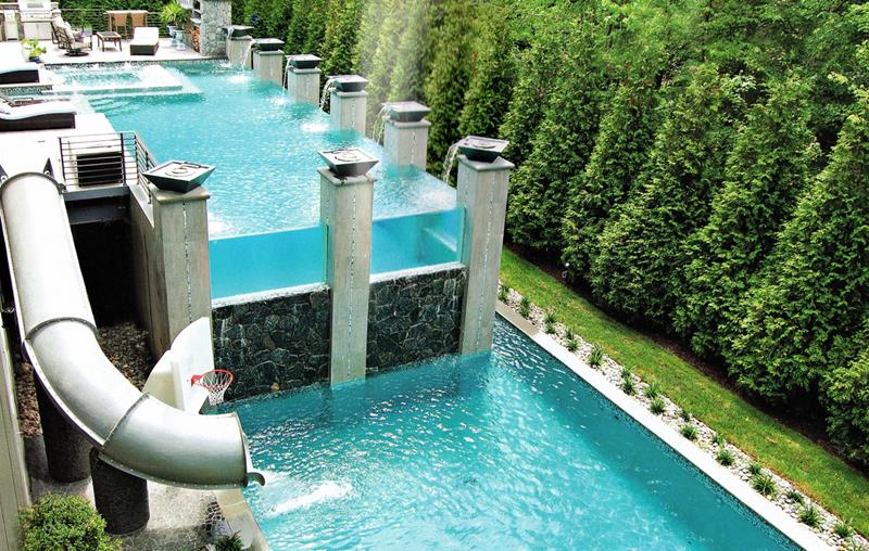 23 Visually Interesting In Ground Pool Designs-5