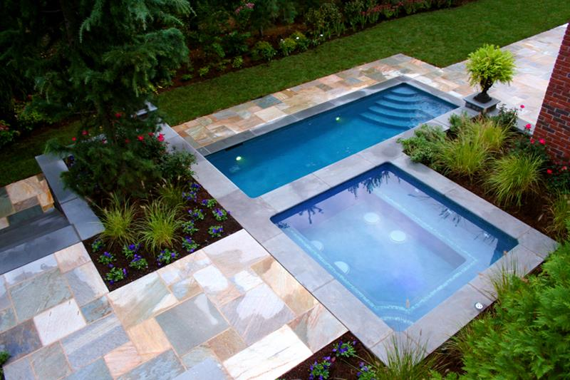 23 Visually Interesting In Ground Pool Designs-7
