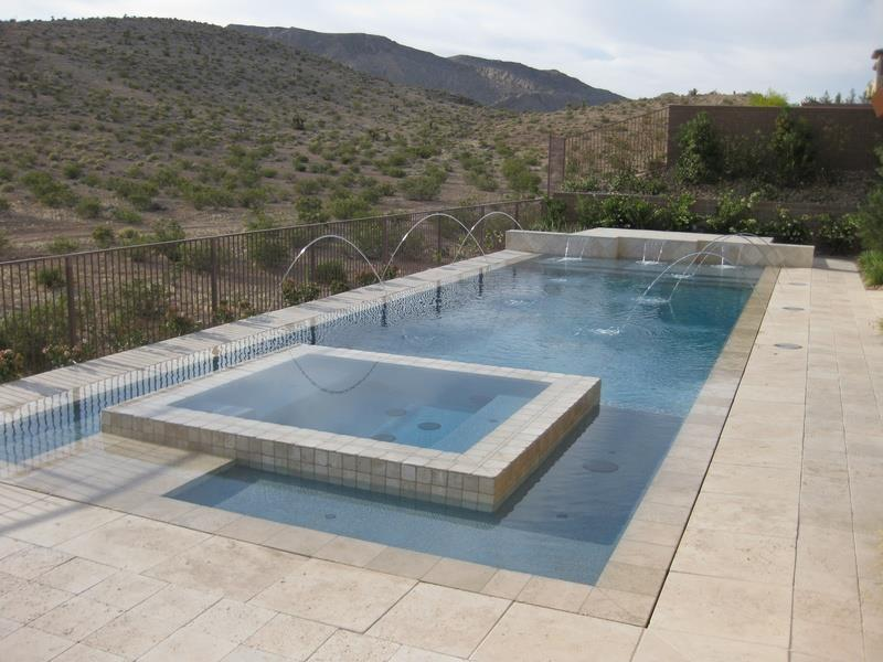 23 Visually Interesting In Ground Pool Designs-9