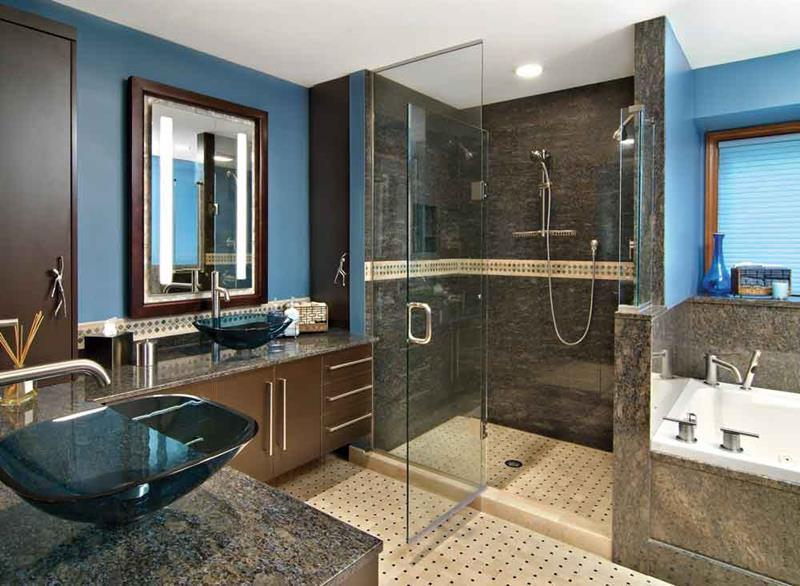 24 Incredible Master Bathroom Designs-1