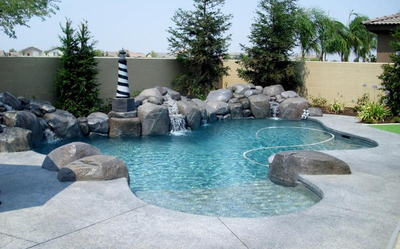 24 Unique Pool Designs With Personality-1