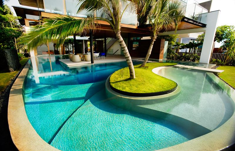 24 Unique Pool Designs With Personality-22