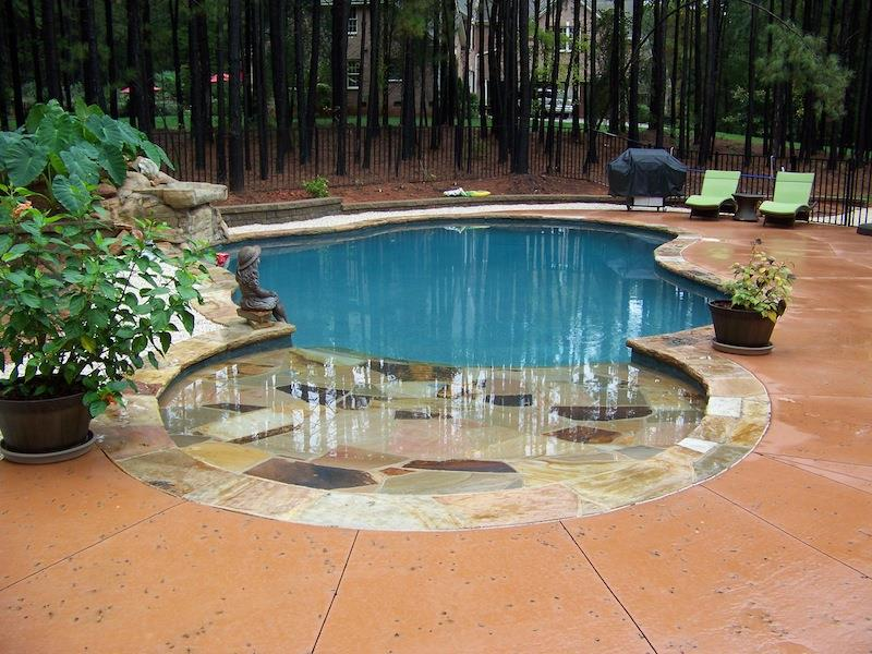 24 Unique Pool Designs With Personality-3