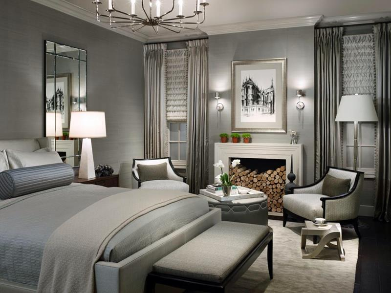 25 Dark Master Bedroom Designs Perfect for Snoozing-19