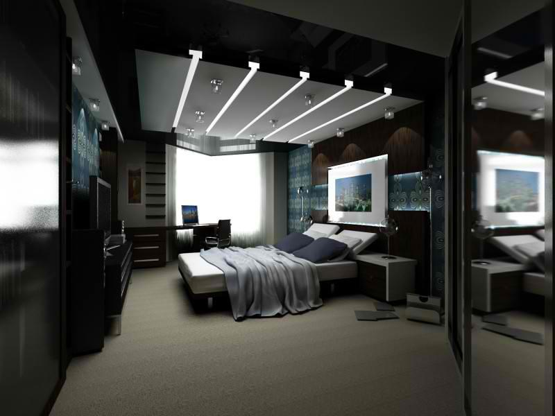 25 Dark Master Bedroom Designs Perfect for Snoozing-2