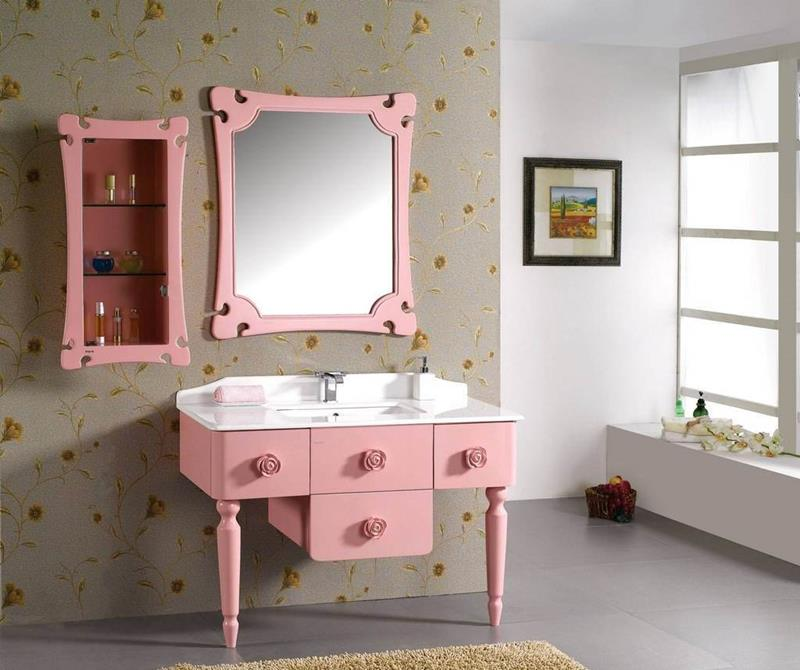 25 Serene and Feminine Bathroom Designs-21