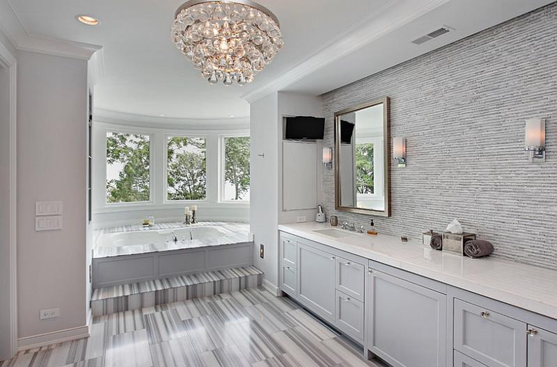 25 Serene and Feminine Bathroom Designs-3