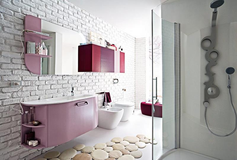 25 Serene and Feminine Bathroom Designs-5