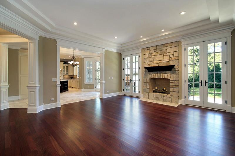 25 Stunning Living Rooms With Hardwood Floors-6