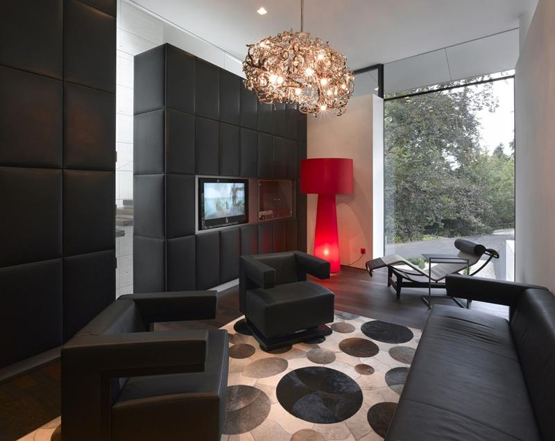 25 Stunning Living Rooms With Hardwood Floors-8
