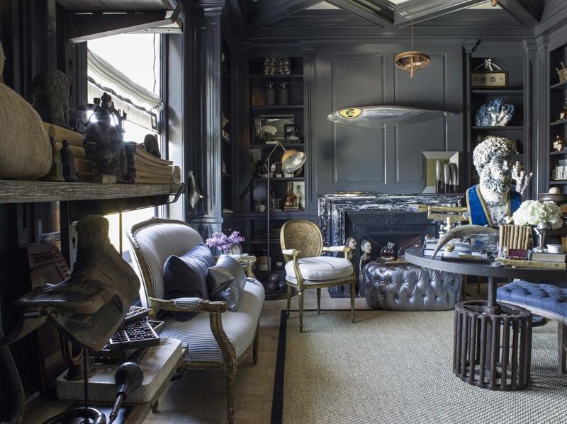25 Super Masculine Living Room Designs-16
