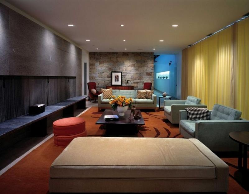 25 Super Masculine Living Room Designs-2