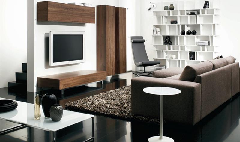 25 Super Masculine Living Room Designs-21