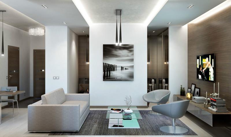 25 Super Masculine Living Room Designs-23