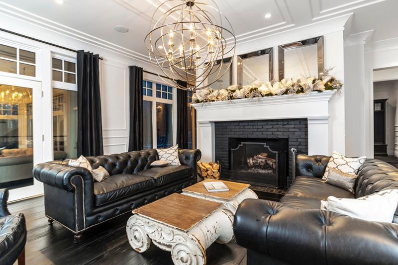 25 Super Masculine Living Room Designs-24