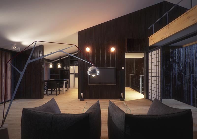 25 Super Masculine Living Room Designs-3