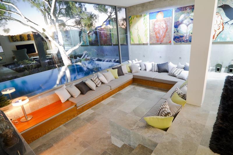 26 Amazing Sunken Living Room Designs-10