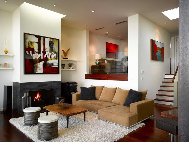 26 Amazing Sunken Living Room Designs-12
