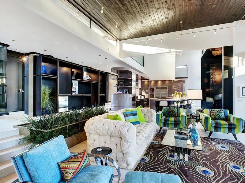 26 Amazing Sunken Living Room Designs-14