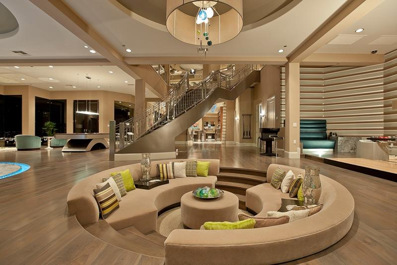26 Amazing Sunken Living Room Designs-2