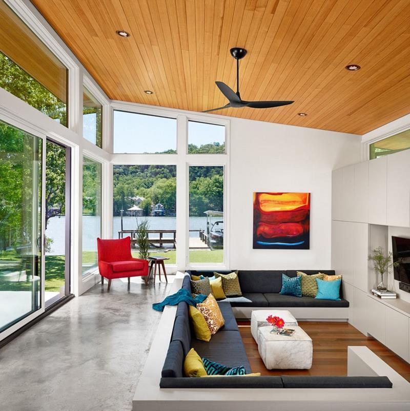 26 Amazing Sunken Living Room Designs-3