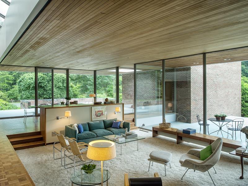 Sunken Living Rooms, Step-Down Conversation Pits Ideas, Photos