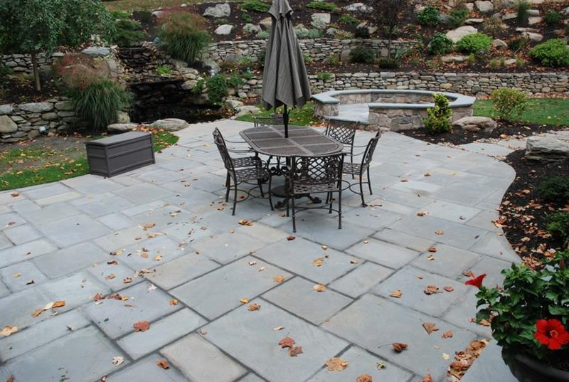 26 Awesome Stone Patio Designs for Your Home-1