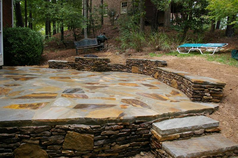 26 Awesome Stone Patio Designs for Your Home-10
