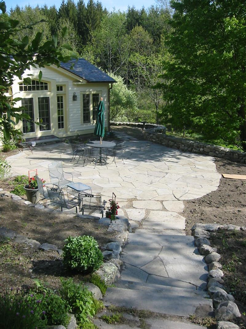 26 Awesome Stone Patio Designs for Your Home-14