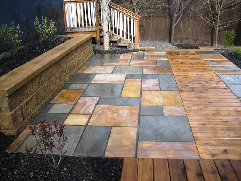 26 Awesome Stone Patio Designs for Your Home-15