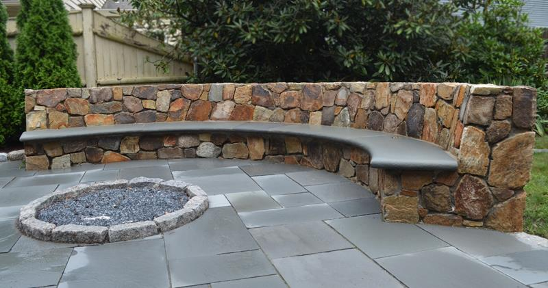 26 Awesome Stone Patio Designs for Your Home-16