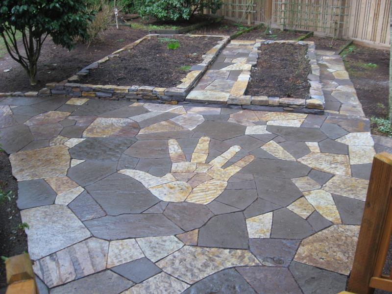 26 Awesome Stone Patio Designs for Your Home-17