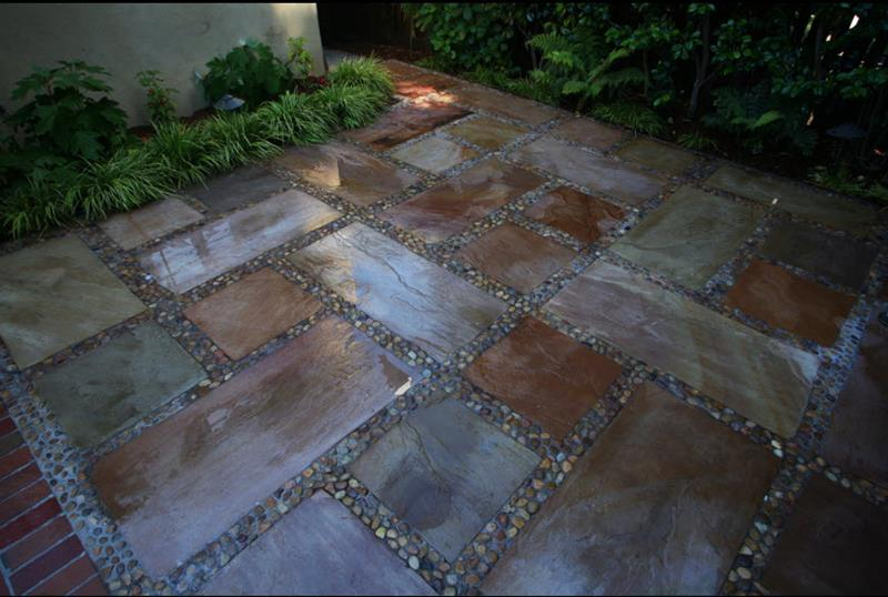 26 Awesome Stone Patio Designs for Your Home-19