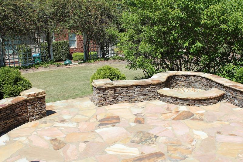 26 Awesome Stone Patio Designs for Your Home-2