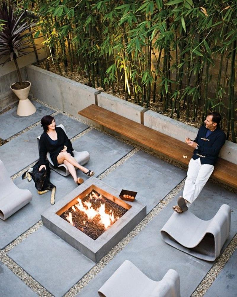 26 Awesome Stone Patio Designs for Your Home-20