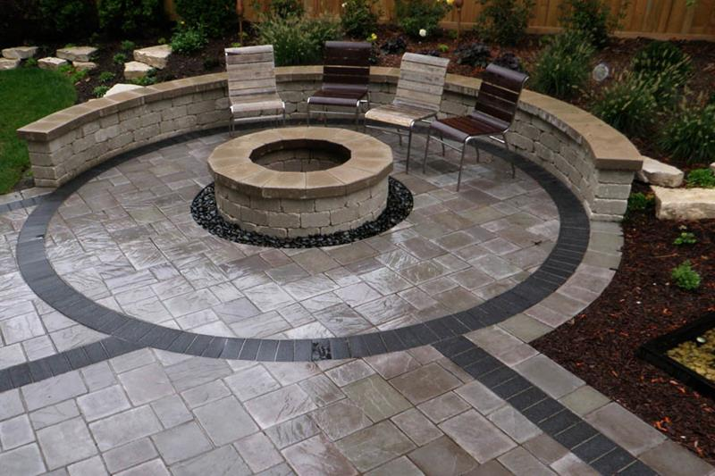 26 Awesome Stone Patio Designs for Your Home-26