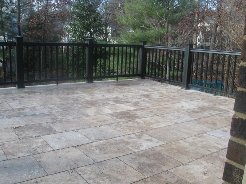 26 Awesome Stone Patio Designs for Your Home-8