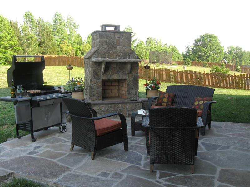 26 Awesome Stone Patio Designs for Your Home-9